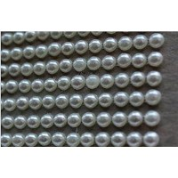 Self-adhesive pearls 4 mm - 0006 Emb